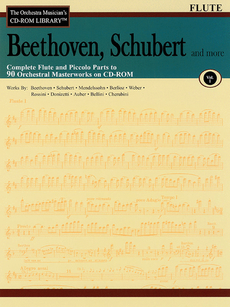 Beethoven, Schubert and More - Volume I (Flute)