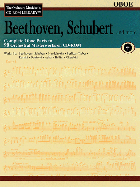 Beethoven, Schubert and More - Volume I (Oboe)