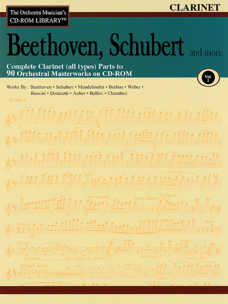 Beethoven, Schubert and More - Volume I (Clarinet)