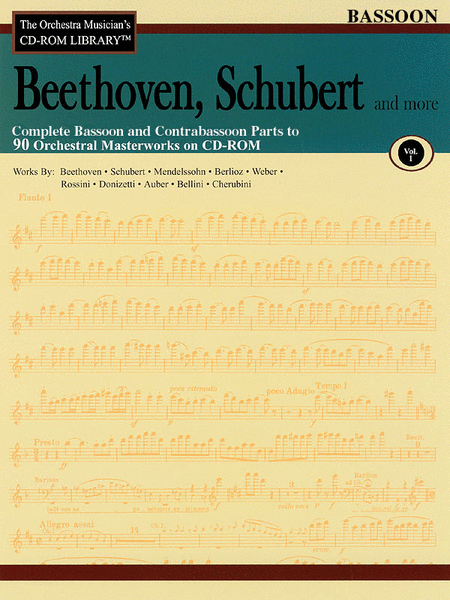 Beethoven, Schubert and More - Volume I (Bassoon)
