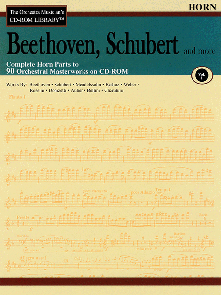Beethoven, Schubert and More - Volume I (Horn)