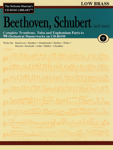 Beethoven, Schubert and More - Volume I (Low Brass)