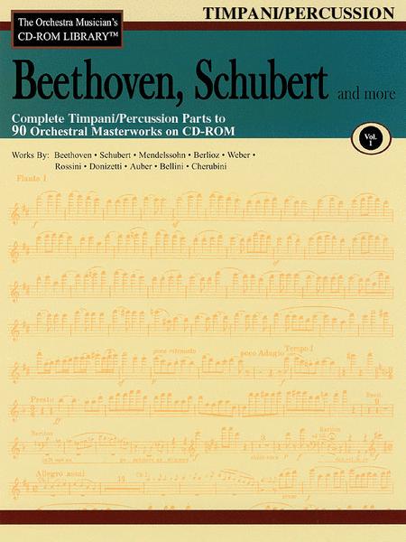 Beethoven, Schubert and More - Volume I (Timpani/Percussion)