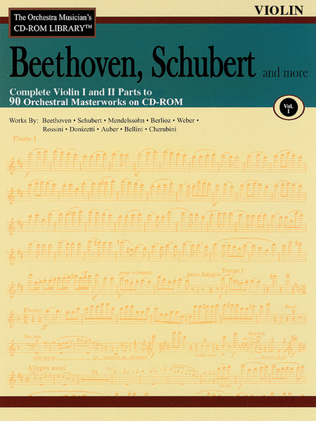 Beethoven, Schubert and More - Volume I (Violin)
