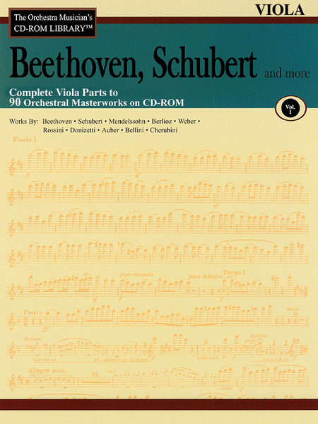 Beethoven, Schubert and More - Volume I (Viola)