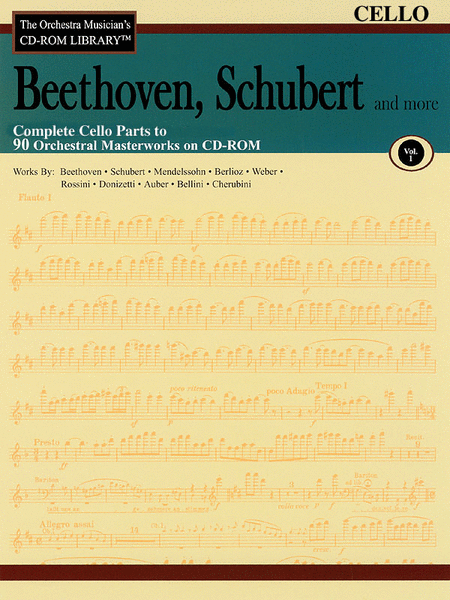 Beethoven, Schubert and More - Volume I (Cello)