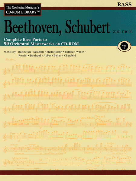 Beethoven, Schubert and More - Volume I (Bass)