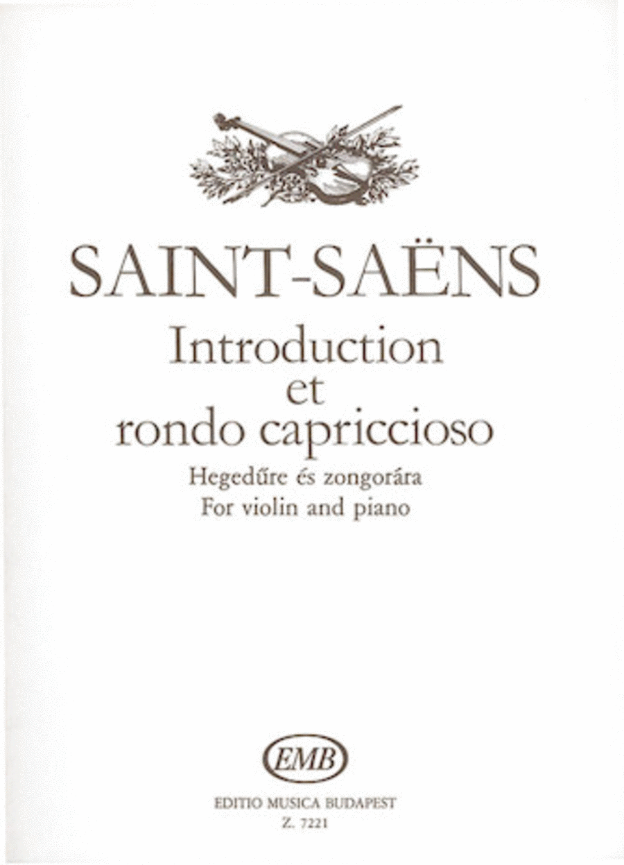 Introduction and Rondo capriccioso, Op.28