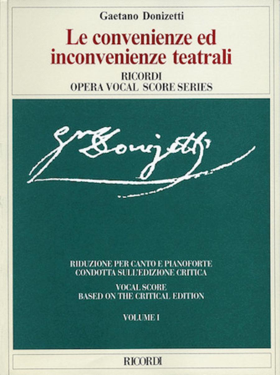 Gaetano Donizetti - Le convenienze ed inconvenienze teatrali