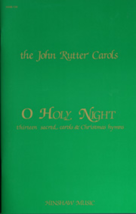 O Holy Night (Green Book)