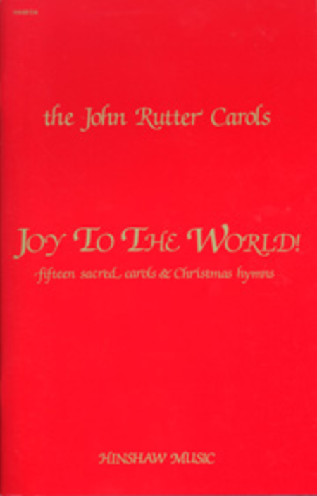 Joy to The World (Red Book)