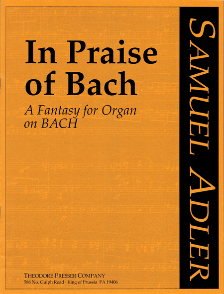 In Praise of Bach