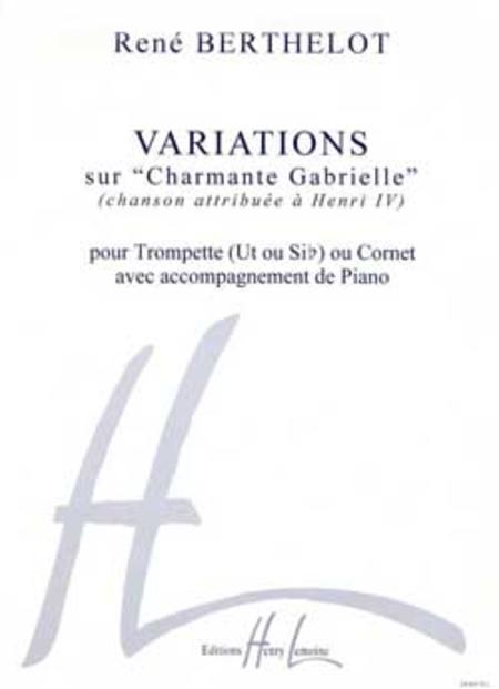 Variations Sur Charmante Gabrielle