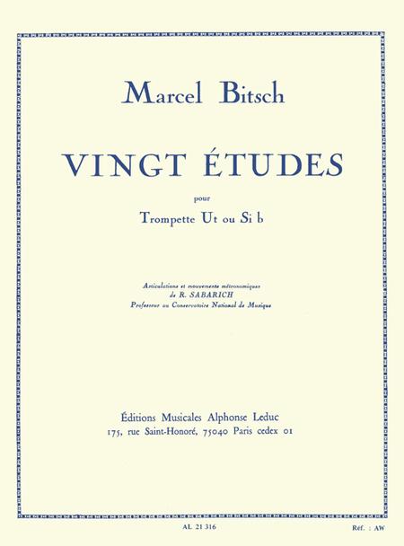 20 Etudes - Trompette