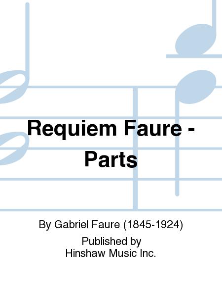 Requiem Faure - Parts