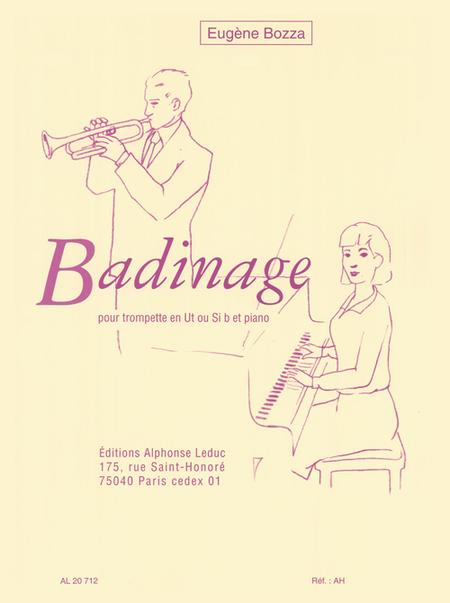 Badinage - Trompette Ut ou Sib et Piano