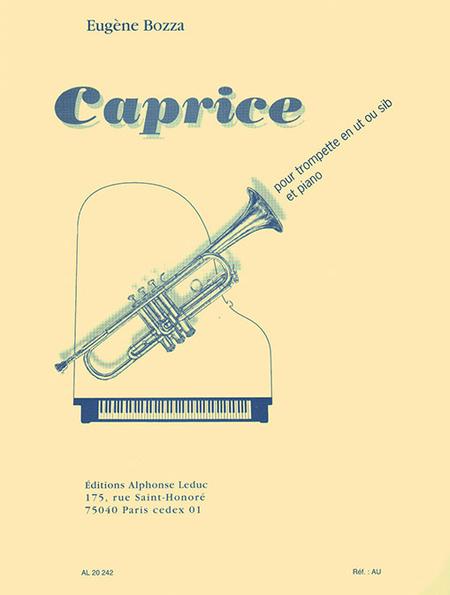 Caprice - Trompette Ut ou Sib et Piano