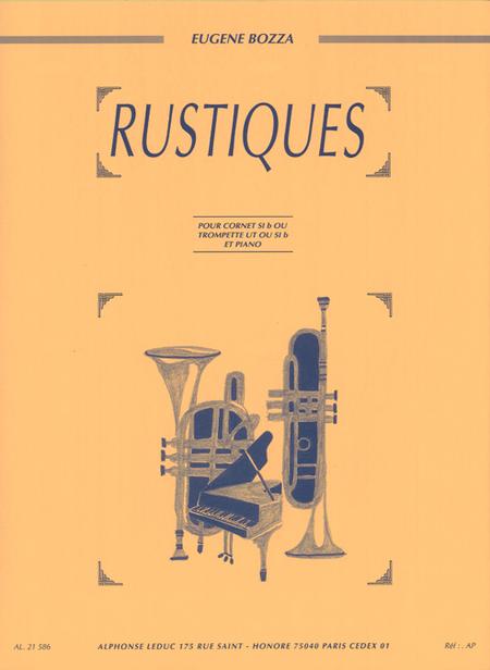 Rustiques - Trompette Ut Ou Sib Et Piano