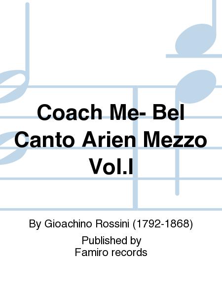 Coach Me- Bel Canto Arien Mezzo Vol.I
