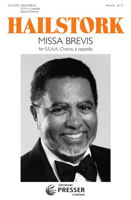 Missa Brevis For Treble Chorus