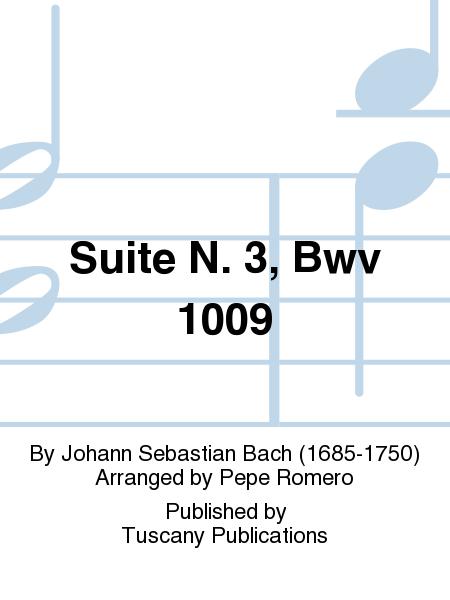Suite N. 3, Bwv 1009