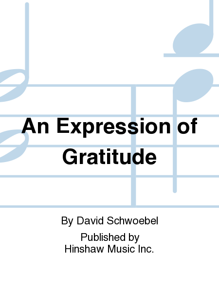 An Expression of Gratitude