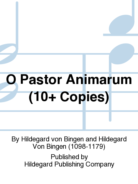 O Pastor Animarum (10+ Copies)