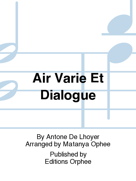 Air Varie Et Dialogue