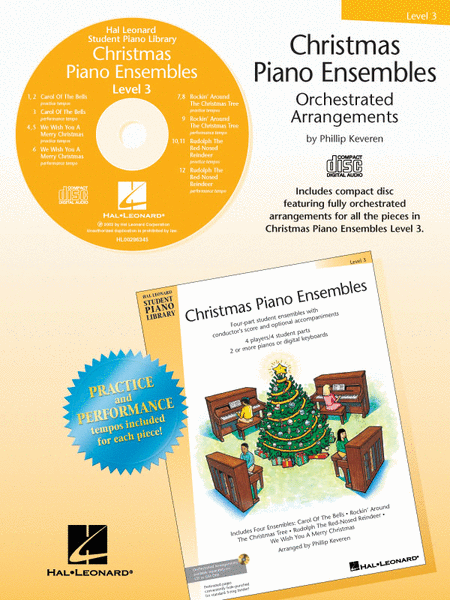Christmas Piano Ensembles - Level 3 CD
