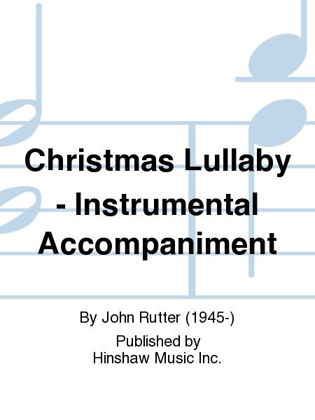 Christmas Lullaby - Instrumental Accompaniment