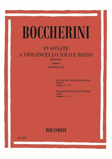 19 Sonatas - Volume 1 (Nos. 1-9)