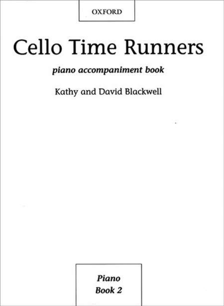 Cello Time Runners Piano Accompaniments