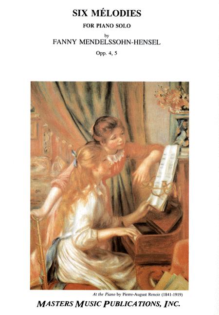 Sechs Melodien, Opp. 4, 5