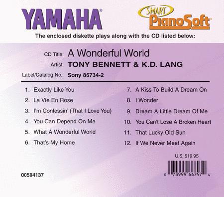 Tony Bennett & K.D. Lang - A Wonderful World - Piano Software