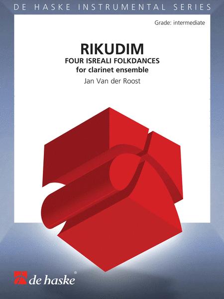 Rikudim (clarinet Choir) Score And Parts