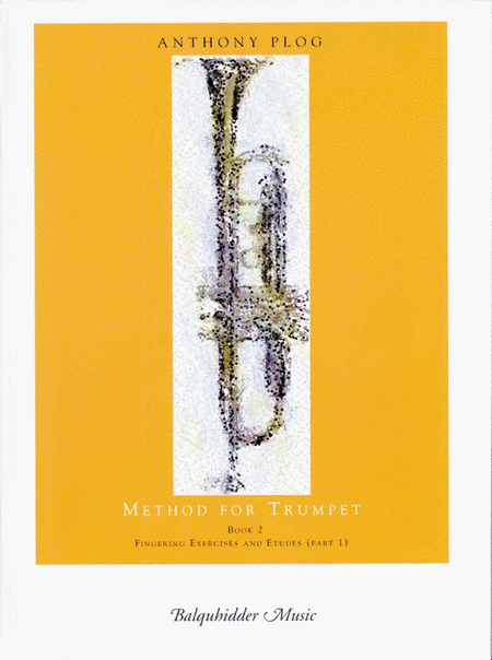 Method For Trumpet - Book 2 (Fingering Exercises And Etudes-Pt. 1)