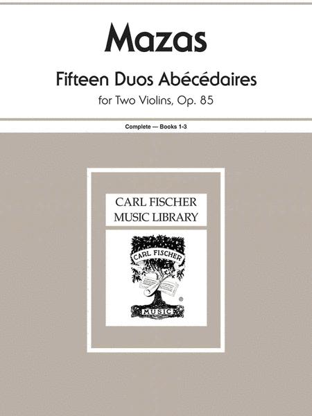 Fifteen Duos Abecedaires