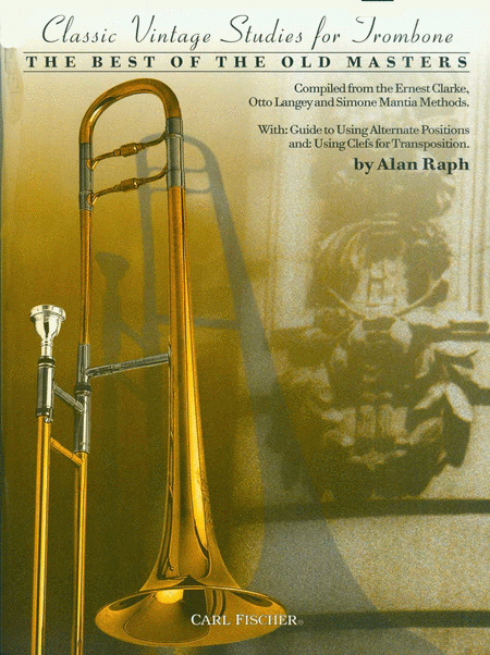 Classic Vintage Studies For Trombone
