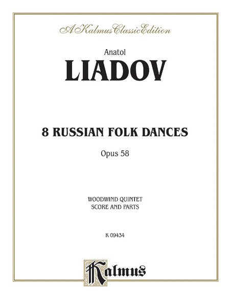 Eight Russian Folk Dances, Op. 58