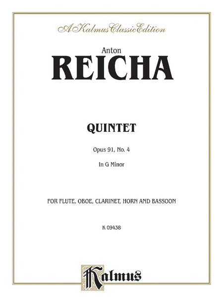 Quintet in D Minor, Op. 91, No. 4