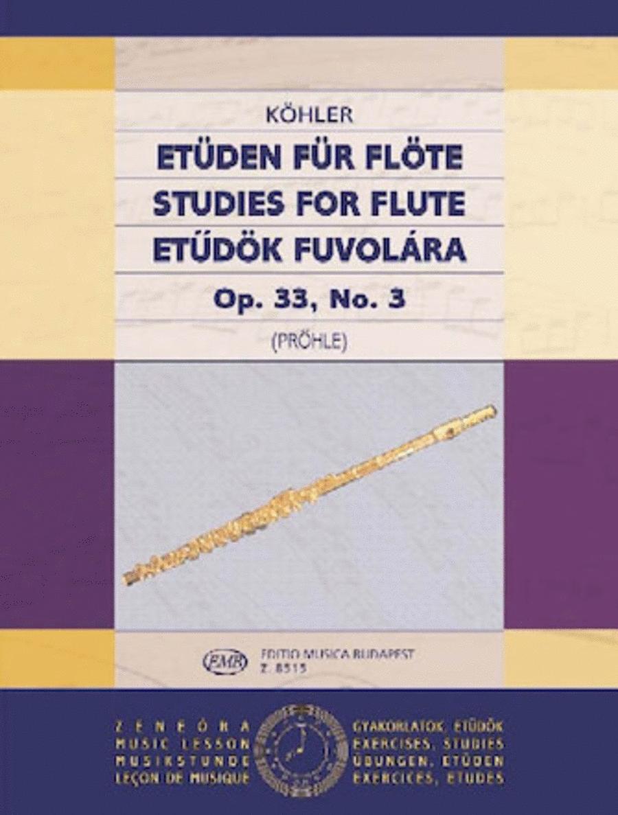 Studies Op. 33 - Volume 3