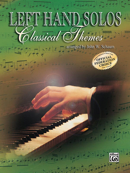 Left-Hand Solos -- Classical Theme, Book 1