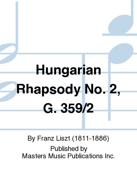 Hungarian Rhapsody No. 2, G. 359/2