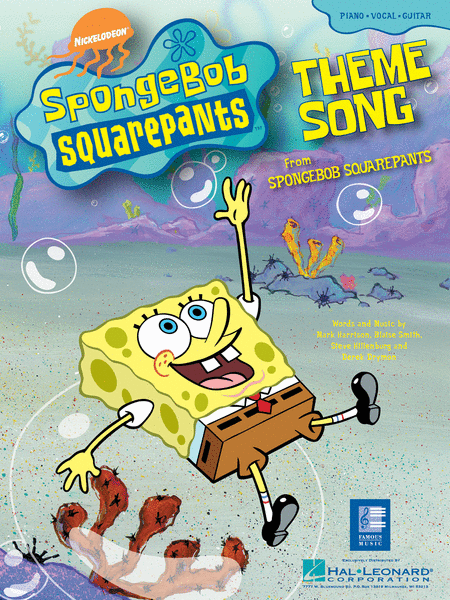SpongeBob SquarePants (Theme Song) Sheet Music - Sheet ...