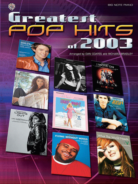 Greatest Pop Hits of 2003