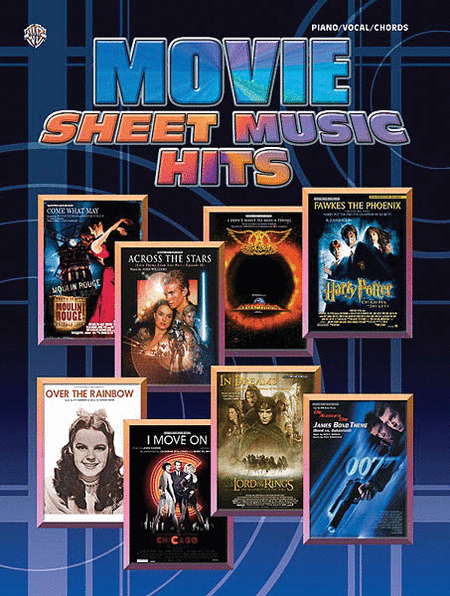 Movie Sheet Music Hits