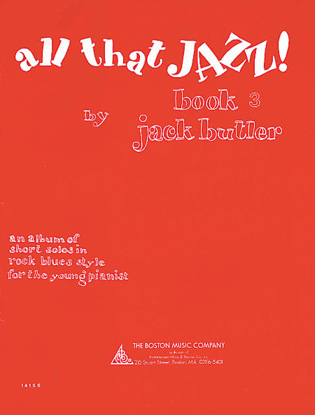 All That Jazz! Book 3