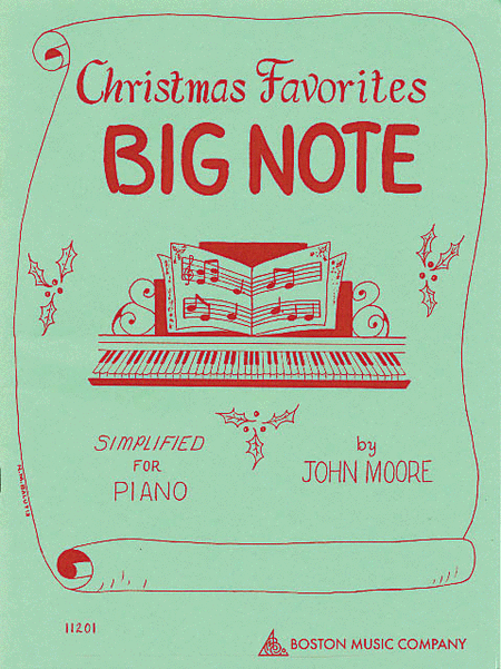 Christmas Favorites - Big Note