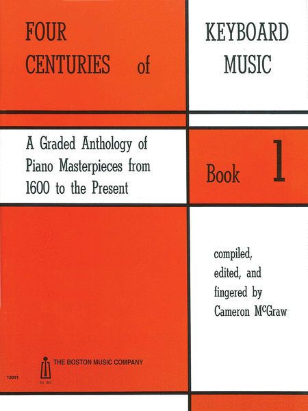 4 Centuries of Keyboard Music - Book 1