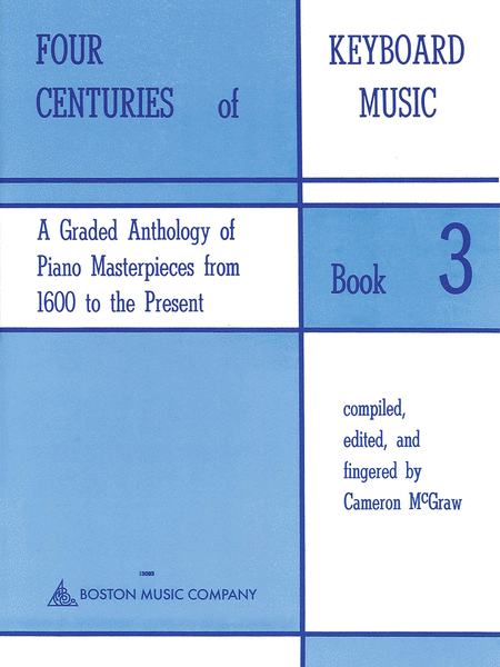 Four Centuries Of Keyboard Music Book 3